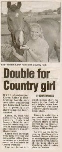 Double for Country Girl