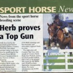 Herb Proves a Top Gun